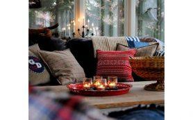7 принципов уютного зимнего декора