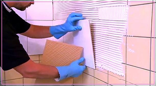 Укладка  плитки на старую кафельную плитку своими руками