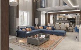 Каким должен быть дизайн интерьера больших квартир?