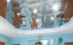 Зеркальный потолок и «звездное небо» своими руками