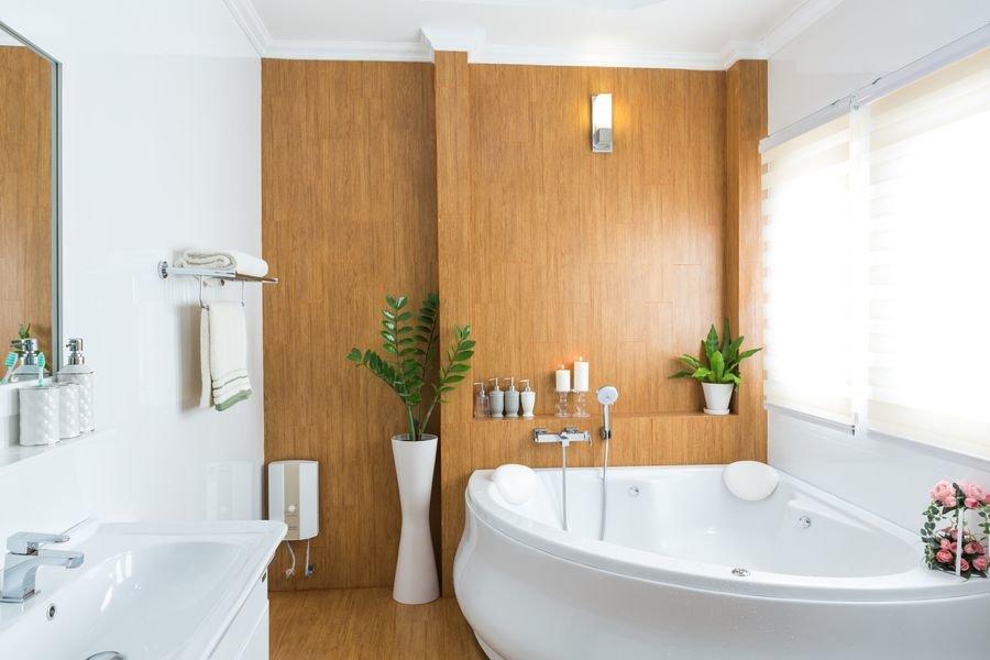 Топ-8 отделочных материалов для ванной