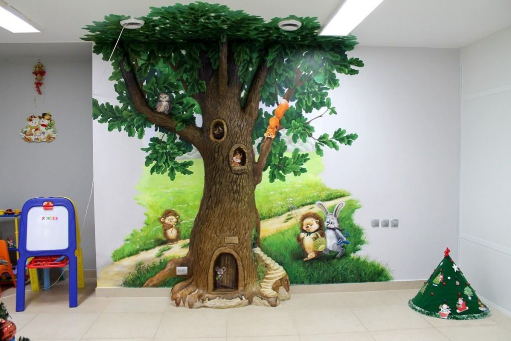 Дизайн квартир: художественная роспись стен