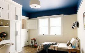 Альтернатива белому — выбираем цвет потолка