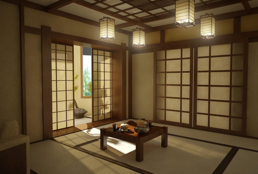 Интерьер в японском стиле (японский интерьер)