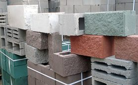 Виды стеновых материалов