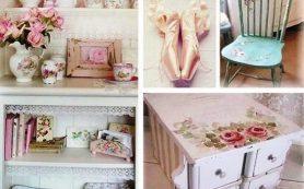 Оформление спальни в стиле шебби шик: советы и рекомендации