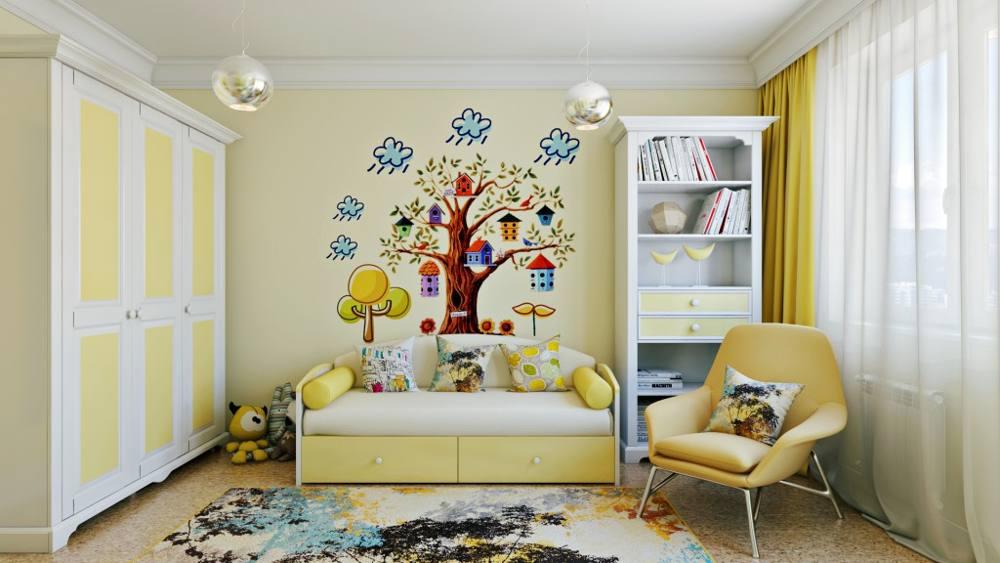 Правильный подбор фотообоев для детской комнаты