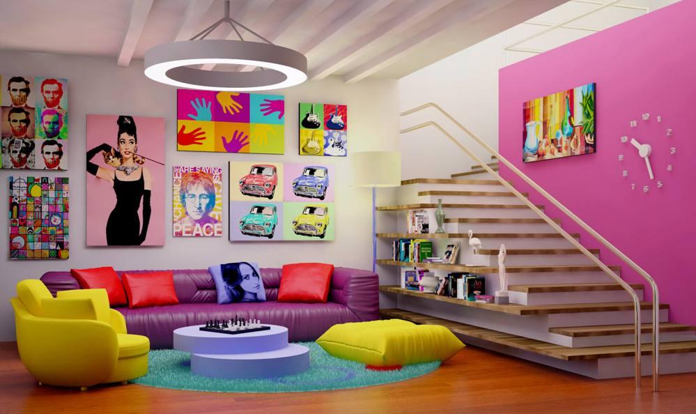 Зонирование пространства детской комнаты