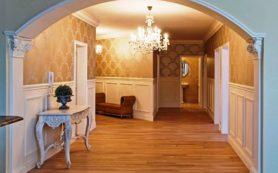 Оформление межкомнатного пространства в квартире: дизайн арок