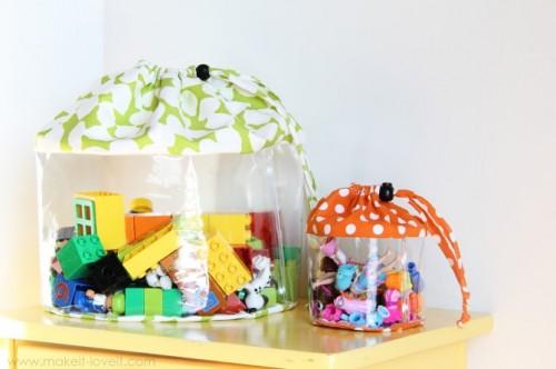 15 необычных идей для хранения детских игрушек
