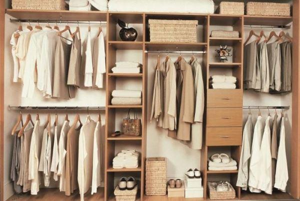 Как обустроить гардеробную комнату: идеи