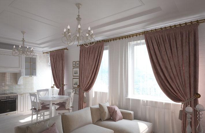 Какие шторы выбрать для гостиной?