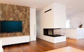 Экологичное пробковое покрытие для стен в современном интерьере