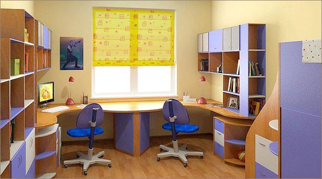 Как обустроить рабочее место для школьника?