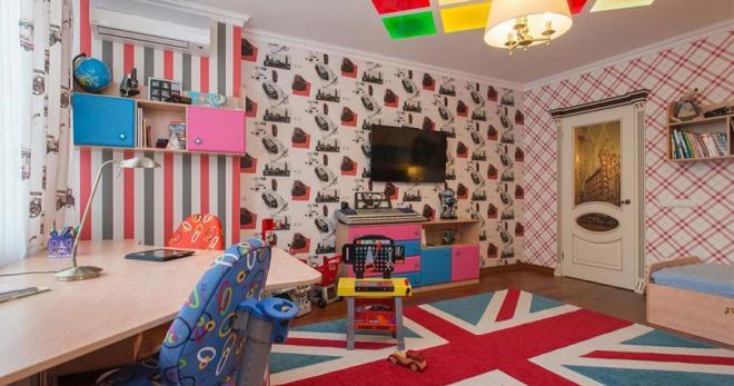 Детские обои — идеи оформления комнат для мальчиков и девочек