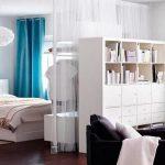 Гостиная, совмещенная со спальней - советы для правильного зонирования