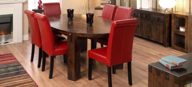 Кожаный стул — комфорт и элегантность