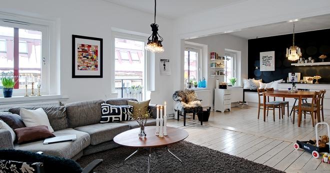 Шведский дизайн интерьера — как правильно оформить?