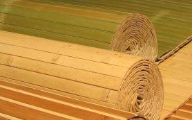 Бамбуковые обои: выбор и поклейка обоев