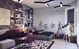 Интерьер детской комнаты для подростка мальчика