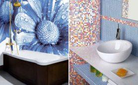 Создание красивой ванной комнаты с использованием мозаичной плитки