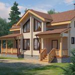 Дом из клееного бруса - характеристики, строительство, перепланировка, регистрация