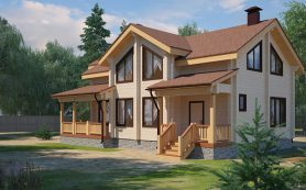 Дом из клееного бруса — характеристики, строительство, перепланировка, регистрация
