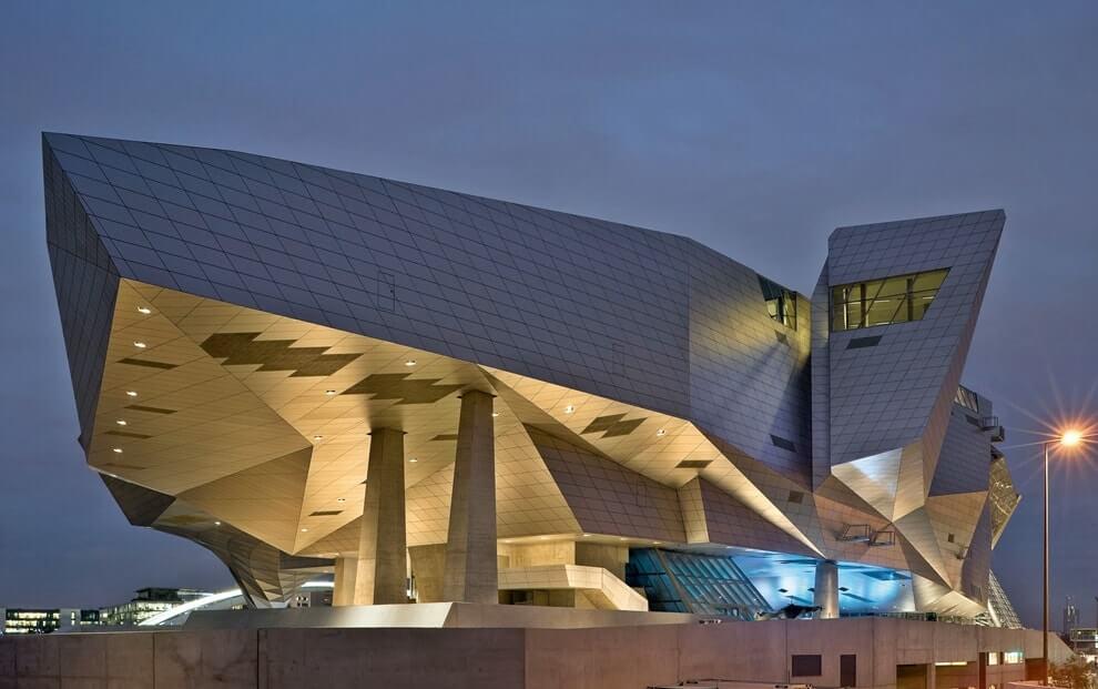 Стиль деконструктивизм в архитектуре