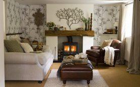 Как оформить гостиную в стиле кантри?