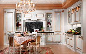 «Ванная и кухня в стиле рококо: ода кокетству»