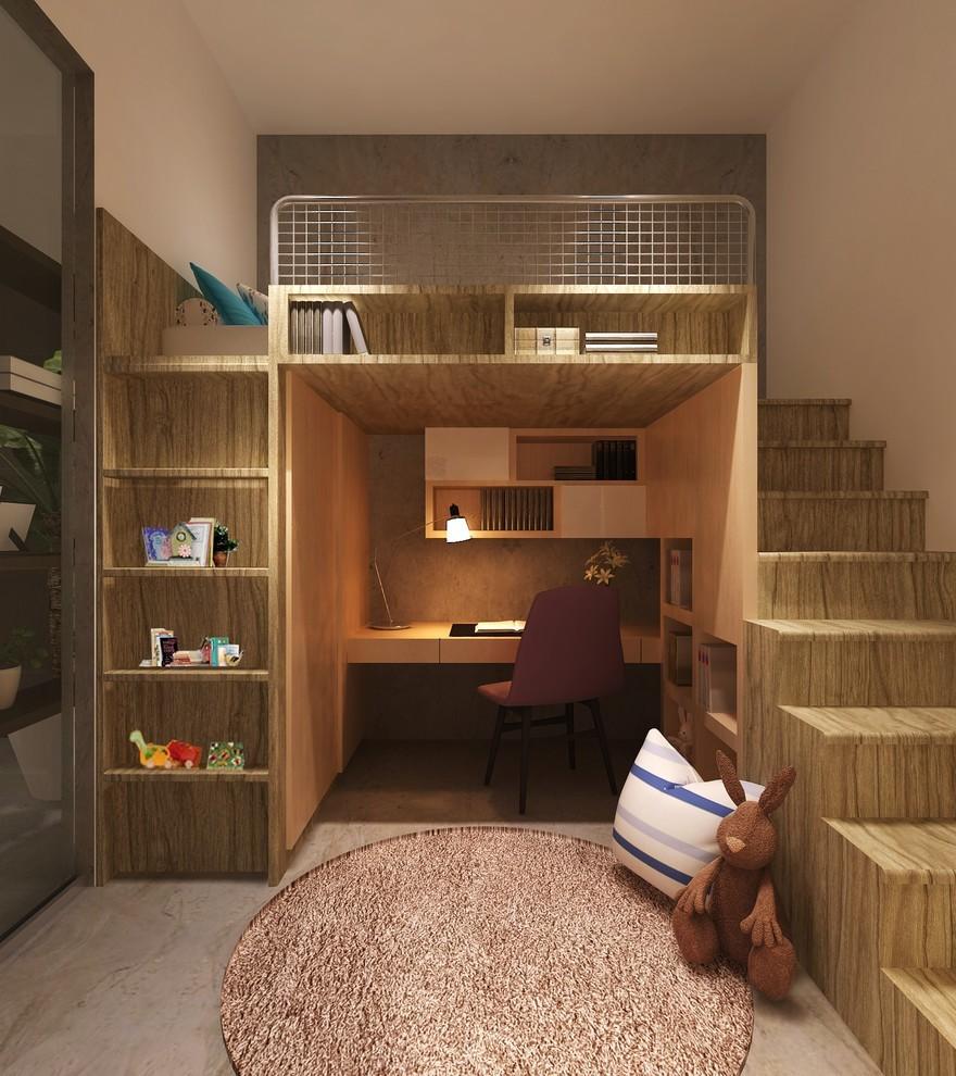 Секреты планировки маленькой детской комнаты