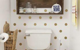 Креативные идеи для интерьера крохотного туалета