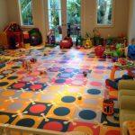 Мягкий пол пазл в детскую комнату