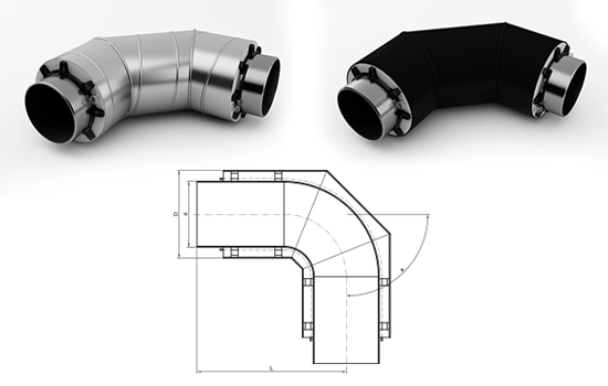 Фасонные изделия в ППУ изоляции: характеристики, виды, применение отводов