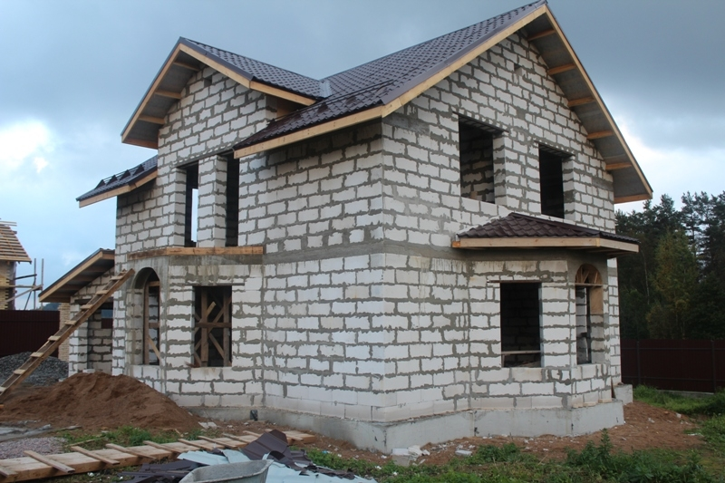 Пеноблоки в строительстве загородного дома