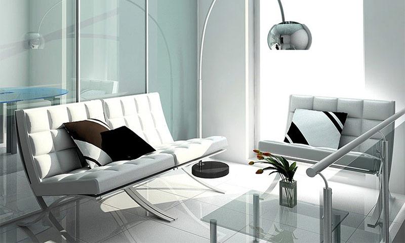 Изысканный и роскошный декор помещения: изделия из стекла