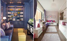Как сделать узкую комнату удобнее. Магия