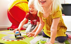 Ковры для детской комнаты: какой выбрать?