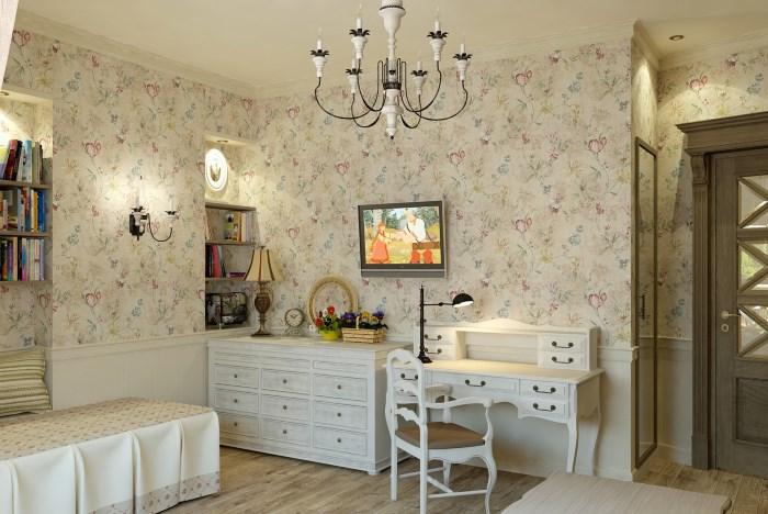 Французские сказки – детская комната в стиле прованс