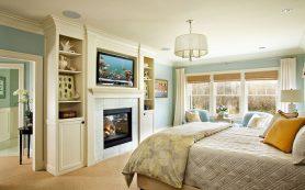 Камин в вашей спальне – лучшие идеи