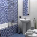 Мозаичная плитка – стиль и лицо ванной комнаты