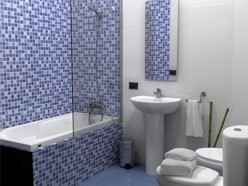 Современный дизайн ванной в стиле модерн