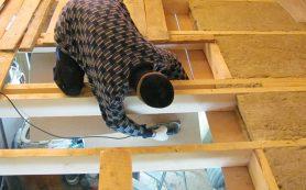 Как утеплить потолок в бане и в частном доме
