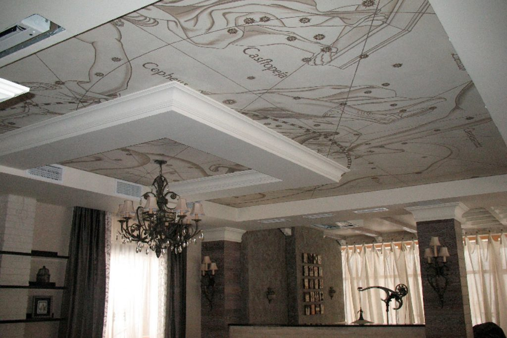 Штукатурка потолка: секреты успешного ремонта