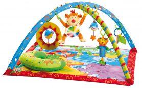 Роль детского коврика в развитии малыша