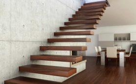 Больцевая лестница в частном доме