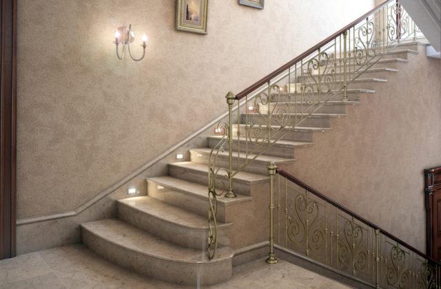 Как правильно произвести отделку бетонной лестницы