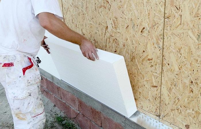 Все об утеплении стен пенопластом своими руками
