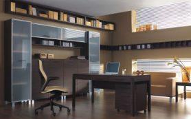 Интерьер рабочей зоны в квартире