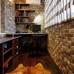 Дизайн квартир: кабинет на балконе